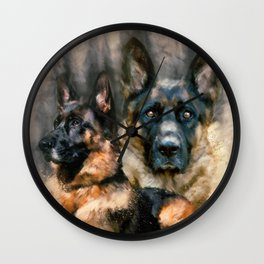 Loyalty Wall Clock