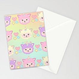 Llamacorn Colors Stationery Cards