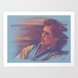 Marius at the barricades Art Print