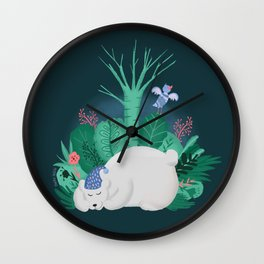 Nighty Night Wall Clock