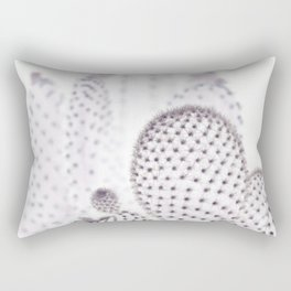 WHITE CACTUS Rectangular Pillow