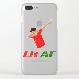 Looking for a trendy and in tee design? We got your back! Here's the perfect tee for you! Nice gift! Clear iPhone Case