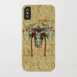 Watercolor Punisher Bat iPhone Case