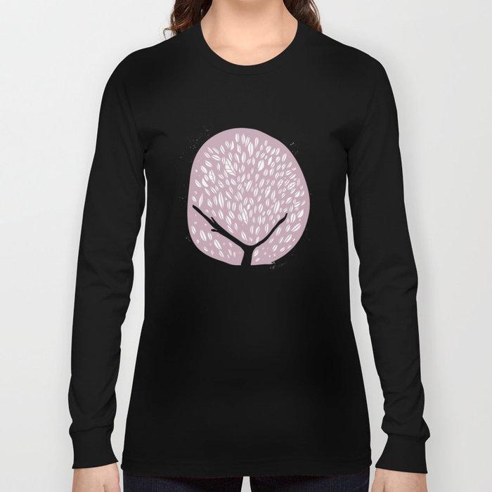 Tree of life - lilac Long Sleeve T-shirt