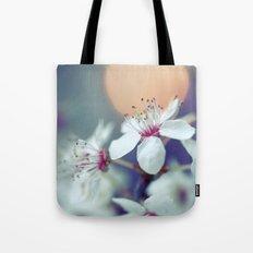 Oriental Blossom Tote Bag