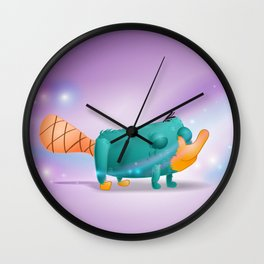 Fan Art Installment 1: Perry on the Wind Wall Clock