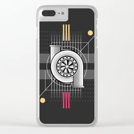 turbo engine Clear iPhone Case