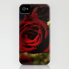 Roses are Red Slim Case iPhone (4, 4s)