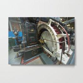 Ferranti Generator Metal Print