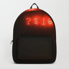 Neon Sweary (Color) Backpack