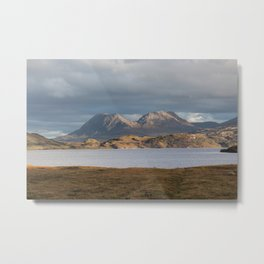 The Road to Achiltibuie Metal Print