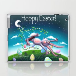 Hoppy Swinging Easter! Laptop & iPad Skin