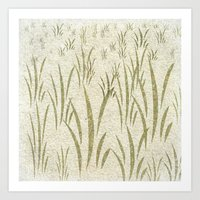 grass Art Prints featuring Grass by Armin
