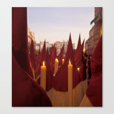 NAZARENOS HOLY WEEK SEVILLE SPAIN Canvas Print