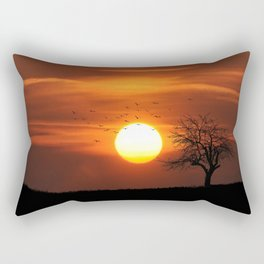 AFRICAN SUNSET Rectangular Pillow