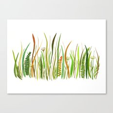 Prairie Watercolor by Robayre Canvas Print
