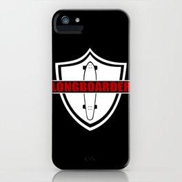 Longboarder iPhone Case