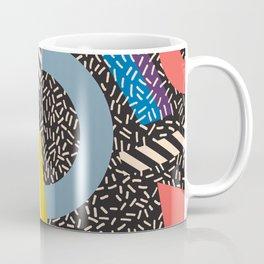 Memphis Inspired Pattern 4 Coffee Mug