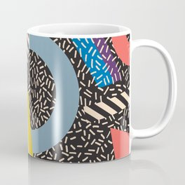 Memphis Inspired Pattern 4 Coffee Mug