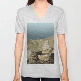 "Not A ""Cairn"" The World Unisex V-Neck"