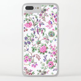 bohemian liberty Clear iPhone Case
