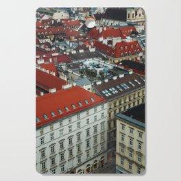 Vienna rooftops II Cutting Board