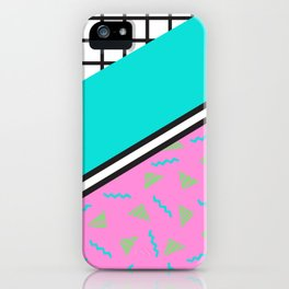 80's Throwback iPhone Case