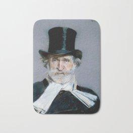 Giuseppe Verdi (1813 – 1901) by Giovanni Boldini (1842 - 1931)(2) Bath Mat