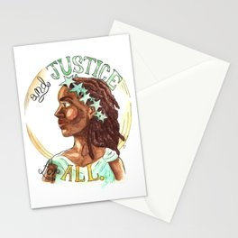 Liberty and Justice For All Stationery Cards