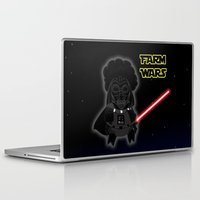 darth Laptop & iPad Skins featuring Darth by Afro Pig