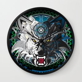 Timberwolves Wall Clock