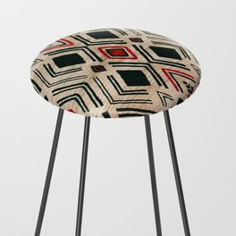 N58 - Traditional African Berber Moroccan Antique Style Artwork Counter Stool