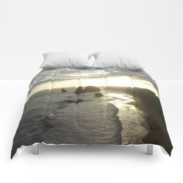 Dusk falls over the Great Southern Ocean Comforters