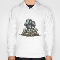 minerals Hoodies featuring Minerals and rocks by YISHAII
