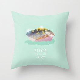 Kohada Sushi Throw Pillow