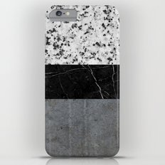 Marble, Granite, and Concrete Abstract Slim Case iPhone 6 Plus