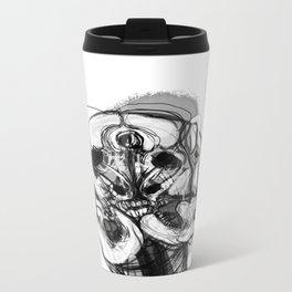 Memory Portrait II Metal Travel Mug