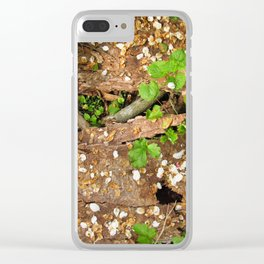 A Beautiful Death Clear iPhone Case