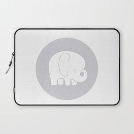 Mod Baby Elephant Grey Laptop Sleeve