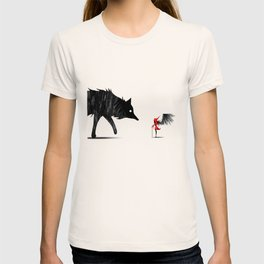 Little Red and the Big Bad Wolf T-shirt