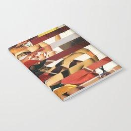 Glitch Pin-Up Redux: Emma Notebook