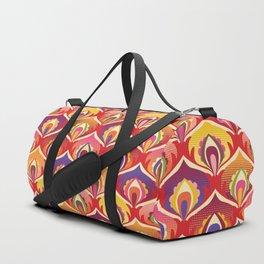 Flower power hippie floral Duffle Bag