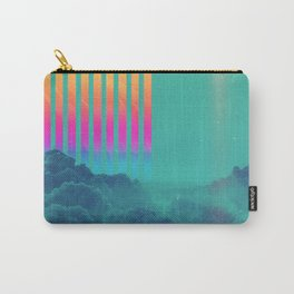 Striped sky Carry-All Pouch
