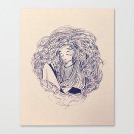 sleepyhead Canvas Print