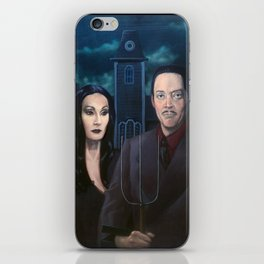 Addams Family Gothic iPhone Skin