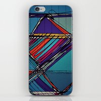 urban iPhone & iPod Skins featuring Urban by Julia Tomova