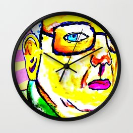 Kim Jong Il has Pretty Lips Wall Clock