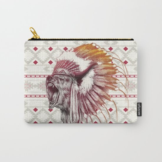 Chief Bear Carry-All Pouch