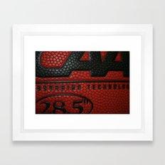 Basketball Framed Art Print