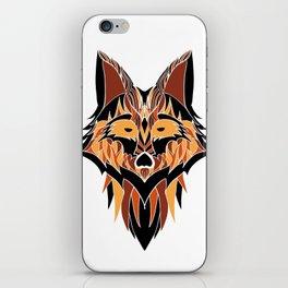 Abstract Fox iPhone Skin
